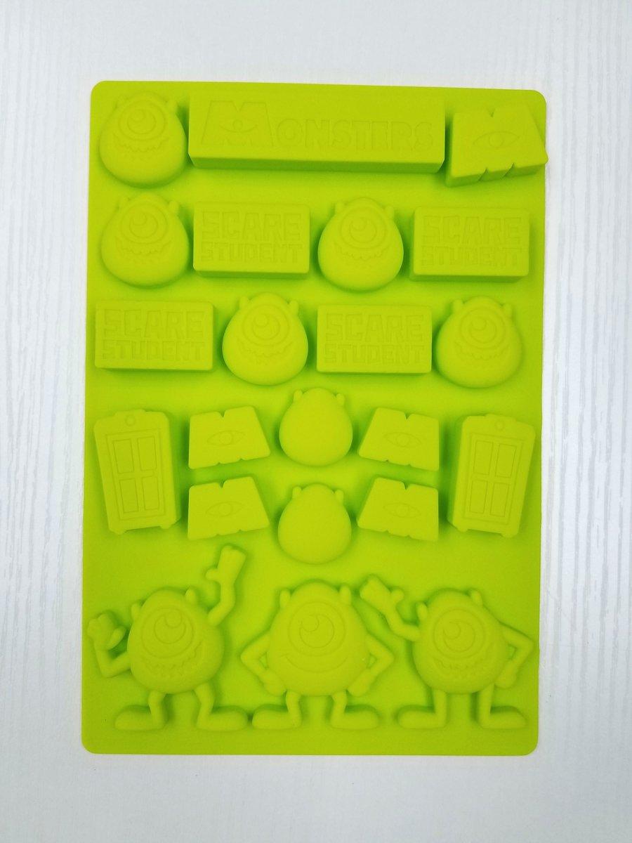 Disney - 怪獸公司矽膠果凍糖果模具 (廸士尼許可產品)