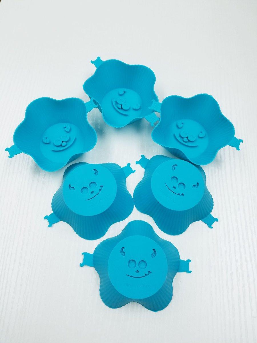 Disney - Monsters Inc. cupcake mold [6 pack] (Licensed by Disney)