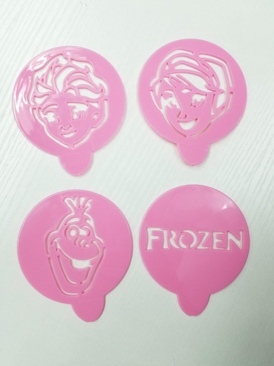 Disney - 魔雪奇緣 - 糖粉篩 [4個裝] (廸士尼許可產品)