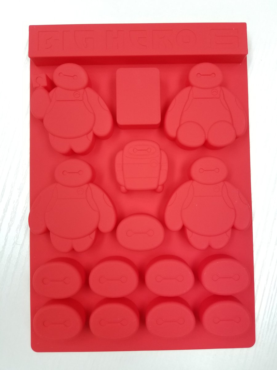 Disney - Big Hero 6 silicone jelly candy mold (Licensed by Disney)