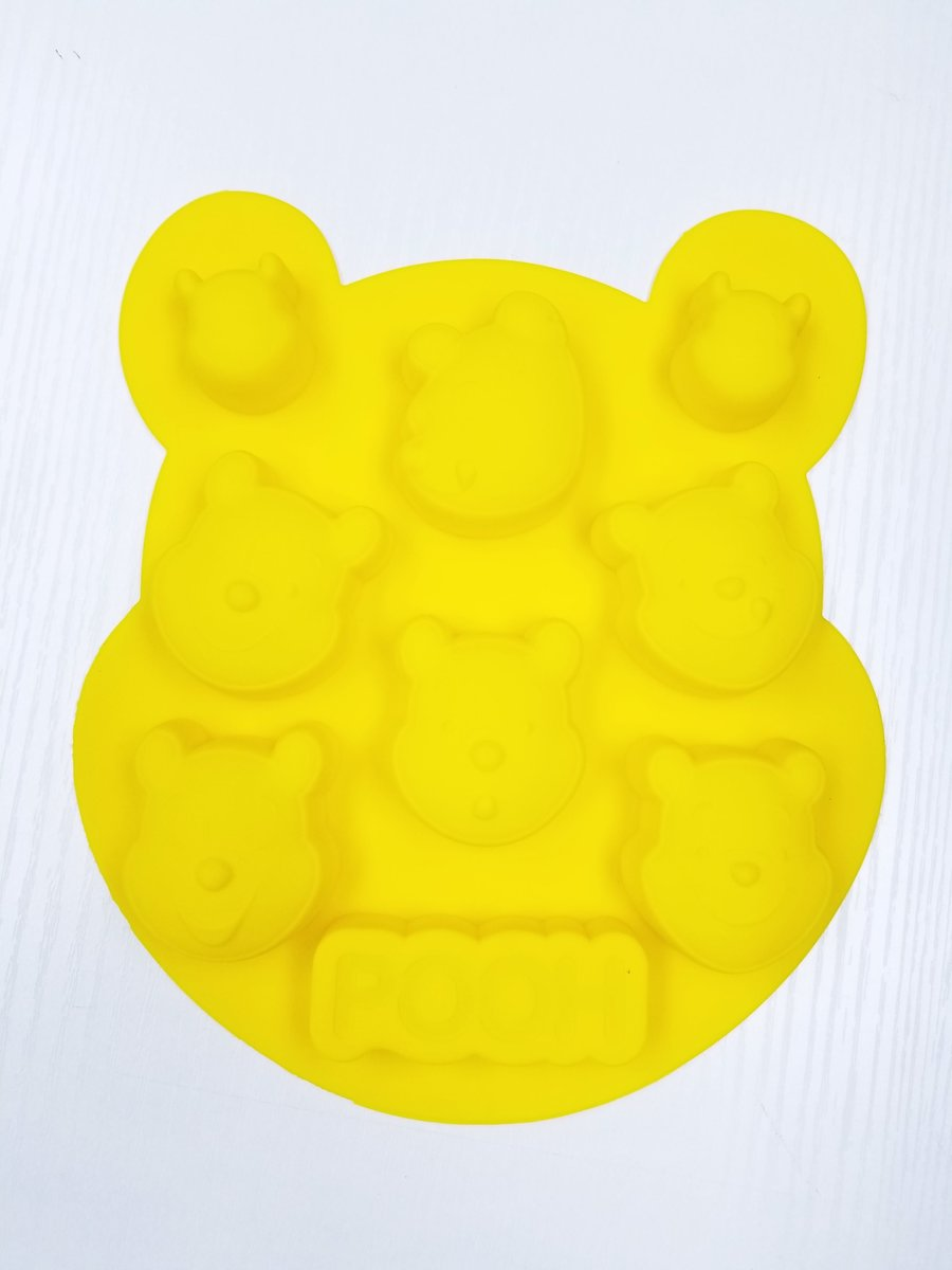 Disney - Winnie the Pooh silicone chocolate jelly candy, cake baking mold (Licensed by Disney)