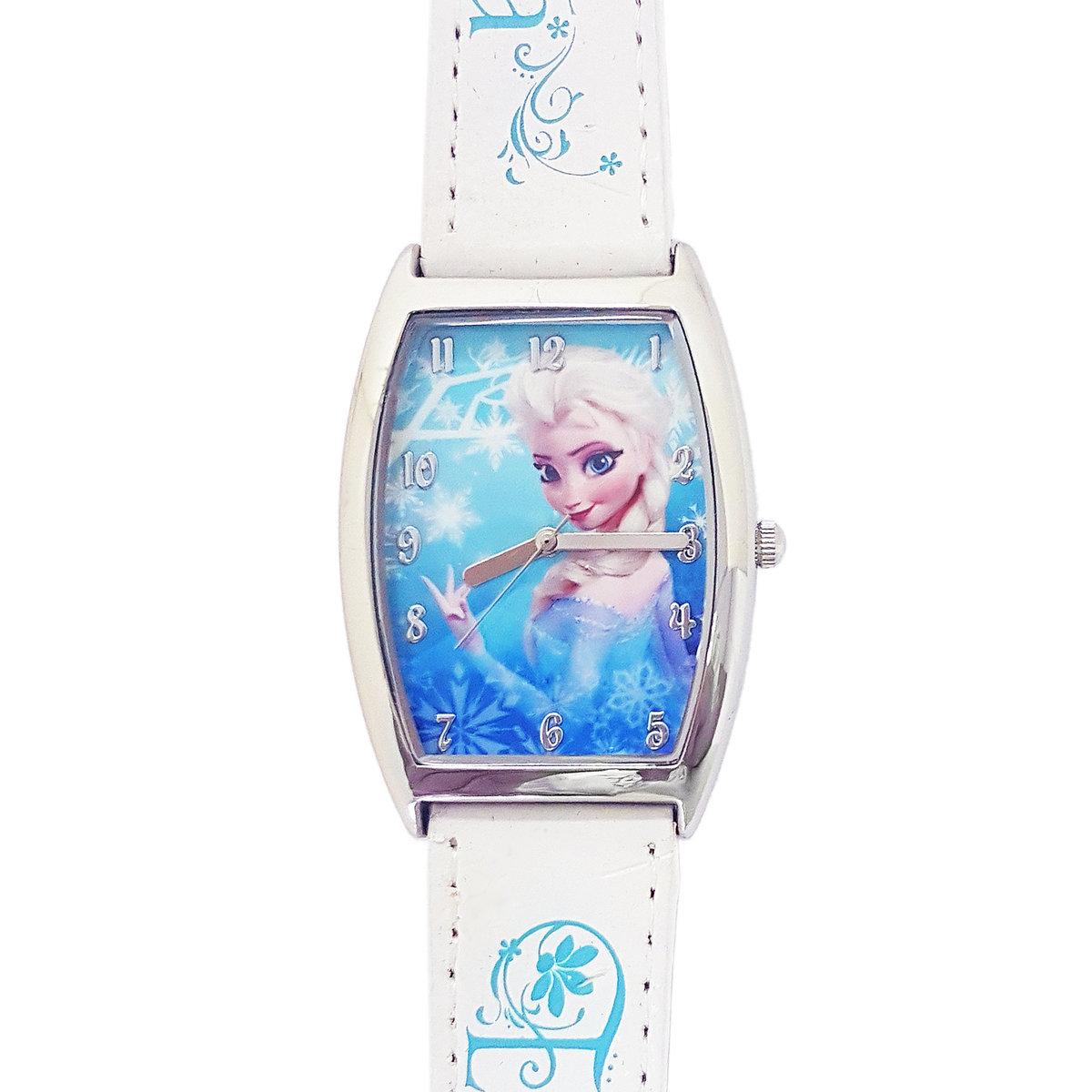 DISNEY FROZEN - Kids wrist watch - Whtie color (Licensed by Disney)