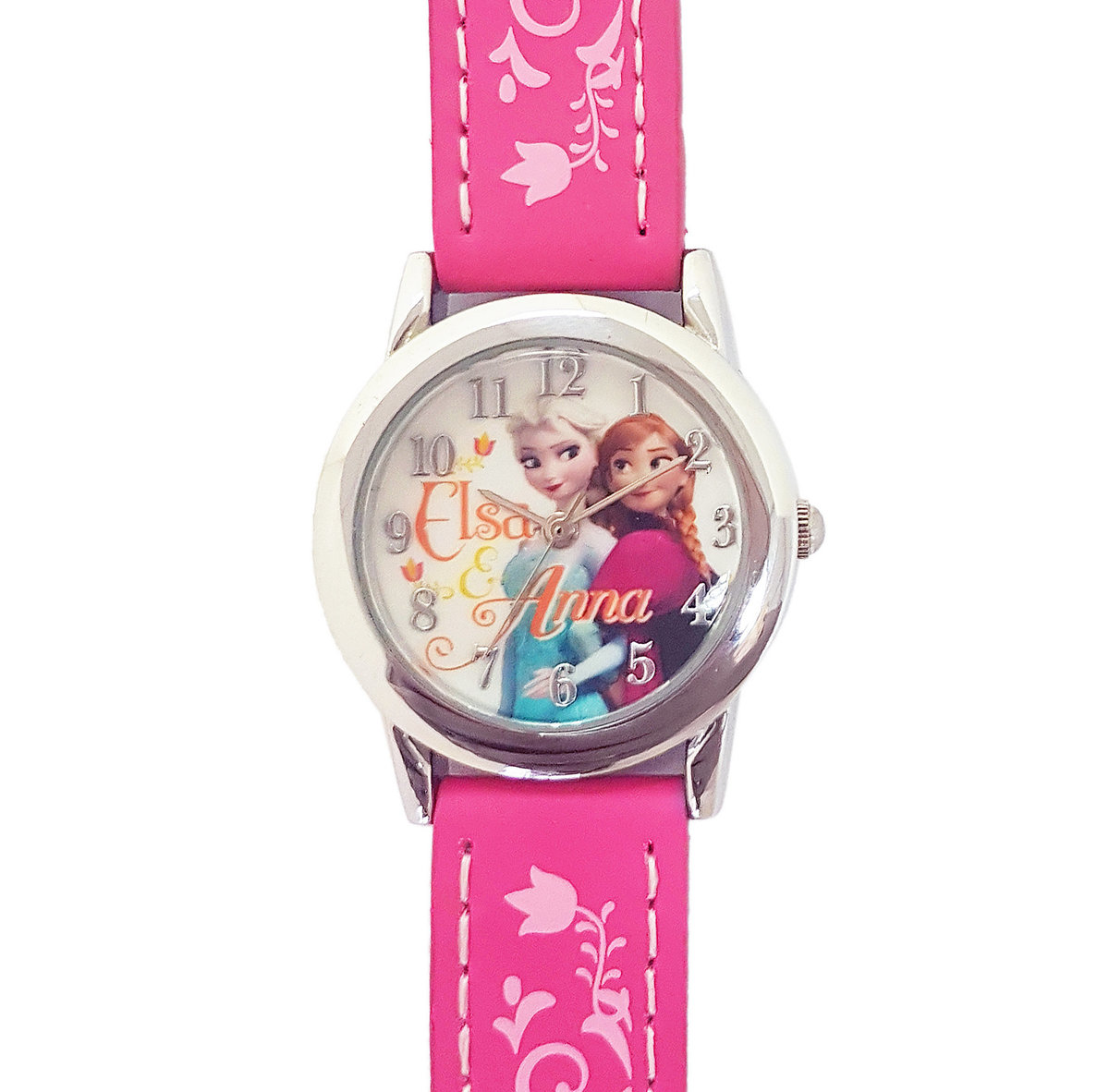 DISNEY FROZEN - Kids wrist watch - Fuchsia color (Licensed by Disney)