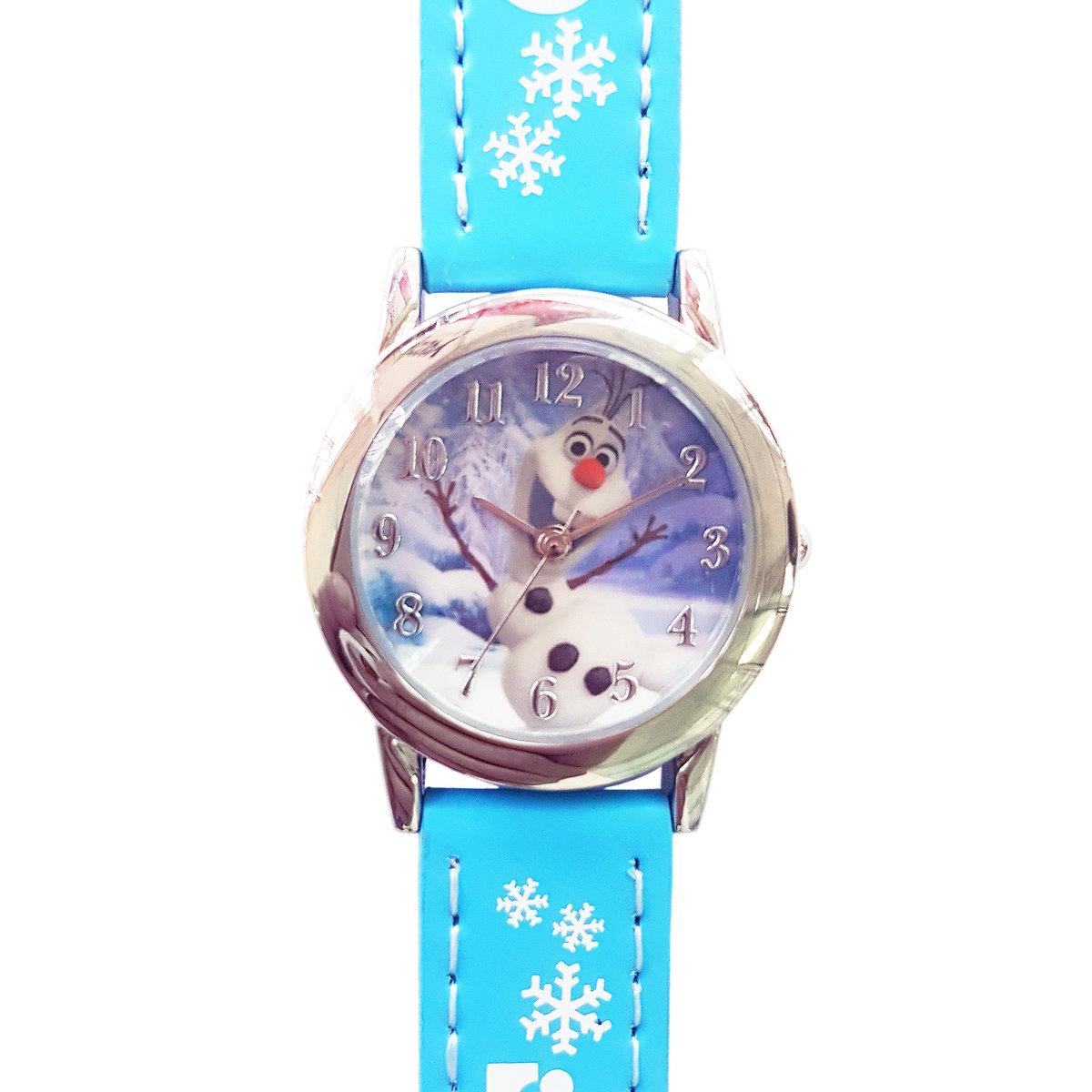 DISNEY FROZEN - Kids wrist watch - Blue color (Licensed by Disney)