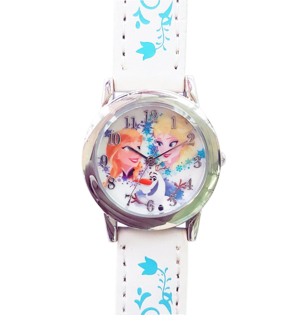 DISNEY FROZEN - Kids wrist watch - White color (Licensed by Disney)