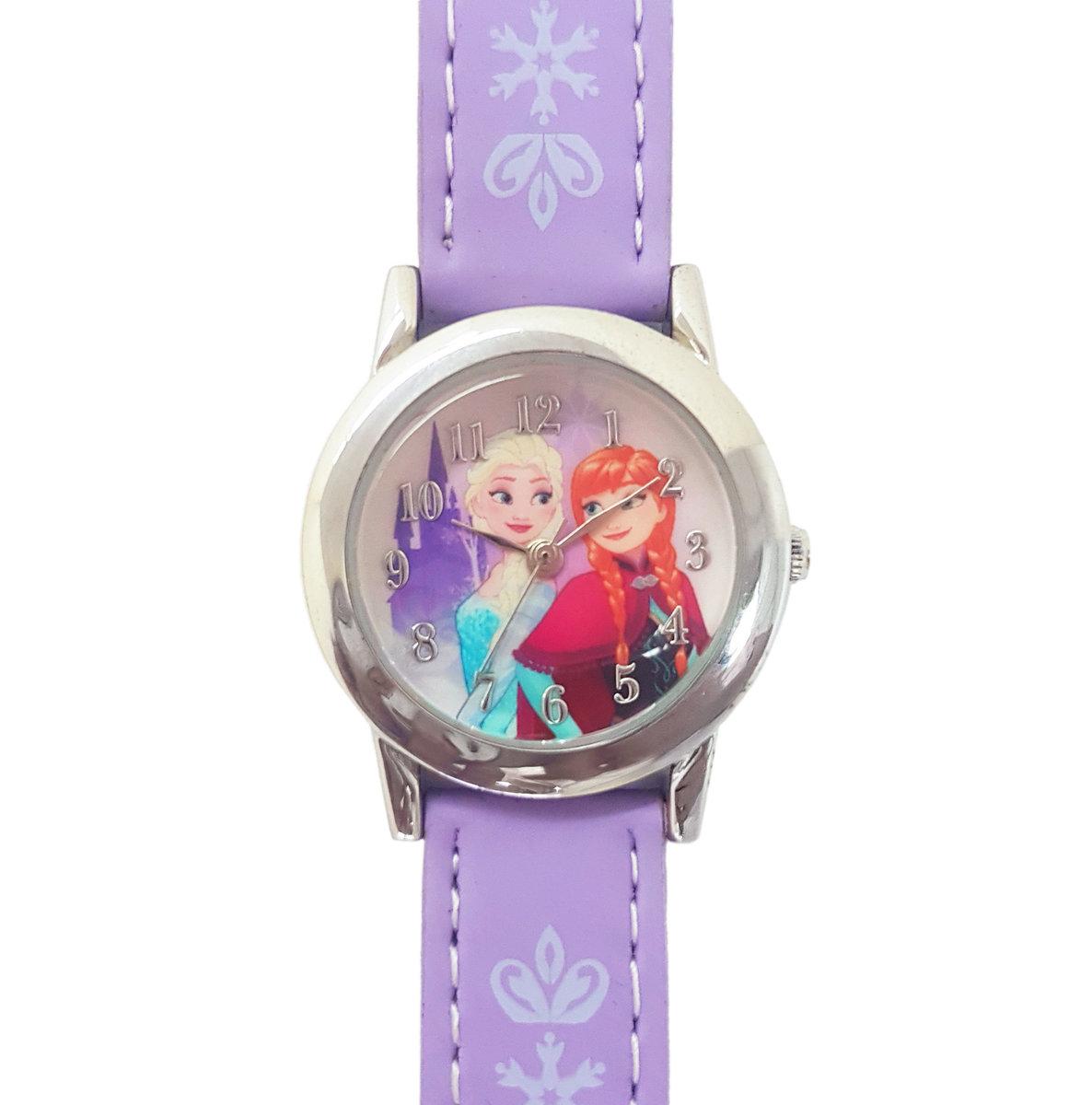 DISNEY FROZEN - Kids wrist watch - Purple color (Licensed by Disney)