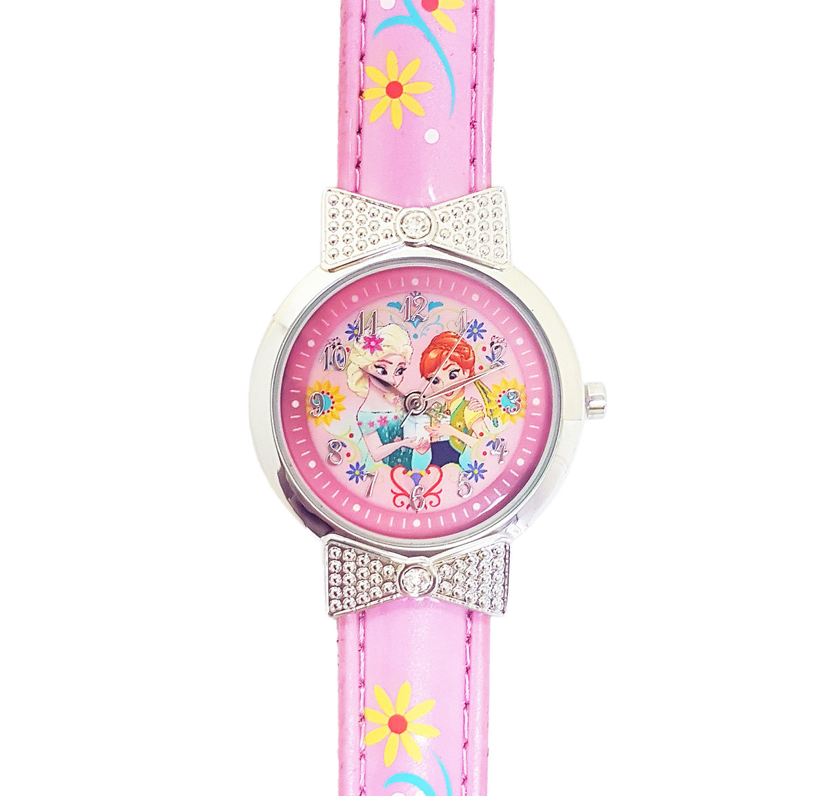 DISNEY FROZEN - Kids wrist watch - Pink color (Licensed by Disney)