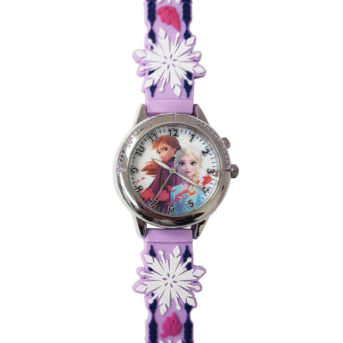 魔雪奇緣 2 DISNEY FROZEN 2 閃燈手錶 - Elsa/Anna (迪士尼許可產品)