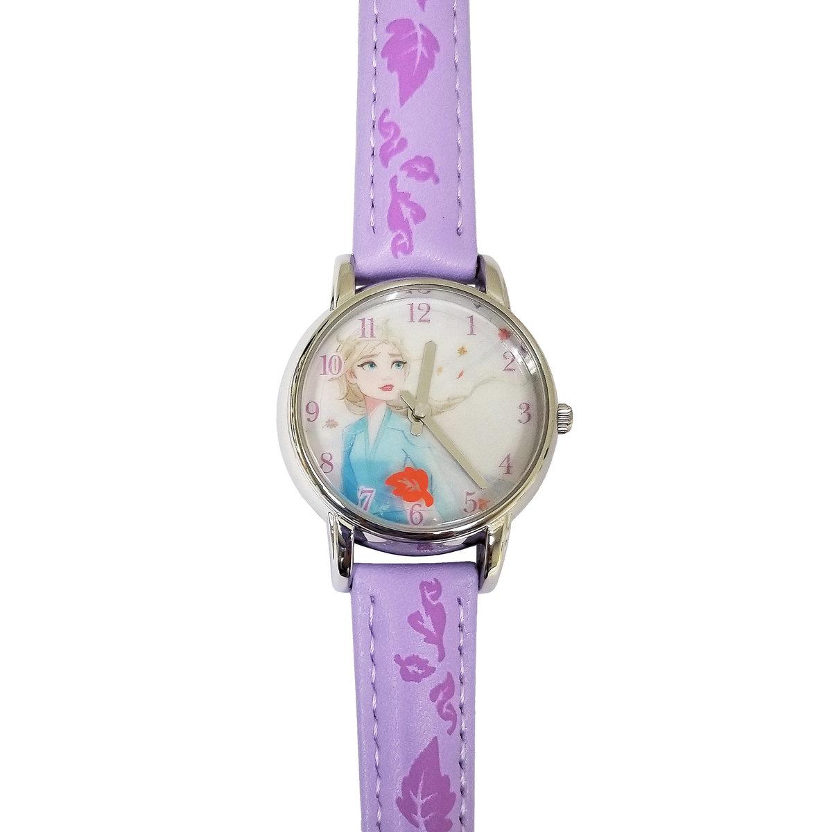 魔雪奇緣 2 DISNEY FROZEN 2 秒盤手錶 - Elsa (迪士尼許可產品)