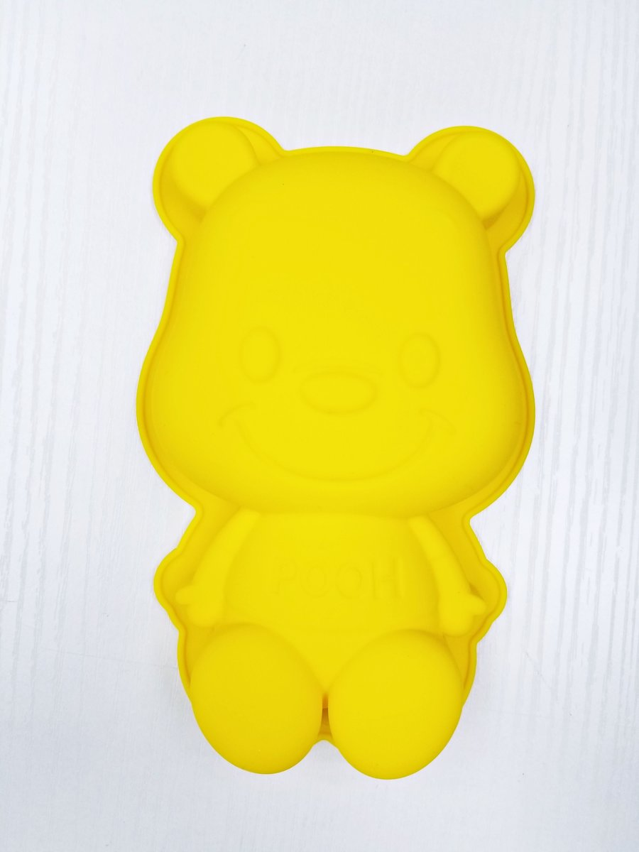 Disney - Winnie the Pooh 3D shape silicone cake baking mold (Licensed by Disney)