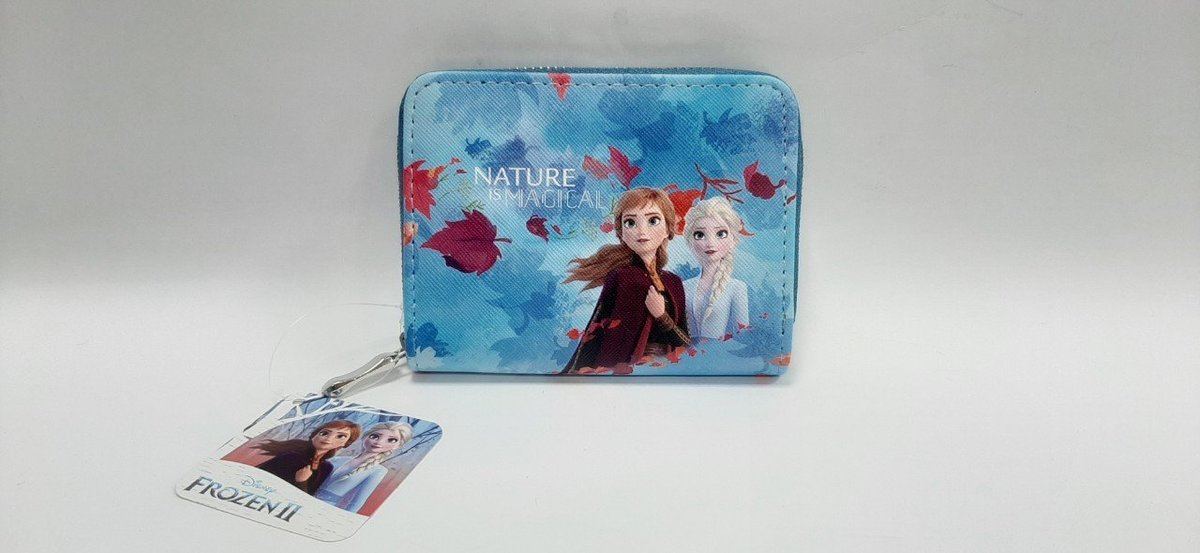 DISNEY FROZEN 2 - Print pattern short wallet  - Elsa/Anna (Licensed by Disney)