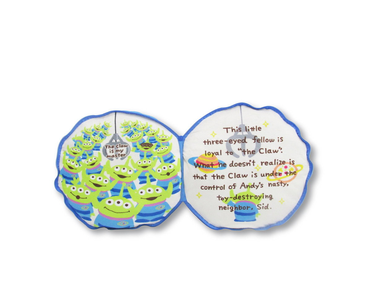 玩具總動員 - 圓形抱枕 (ALL) (迪士尼許可產品)