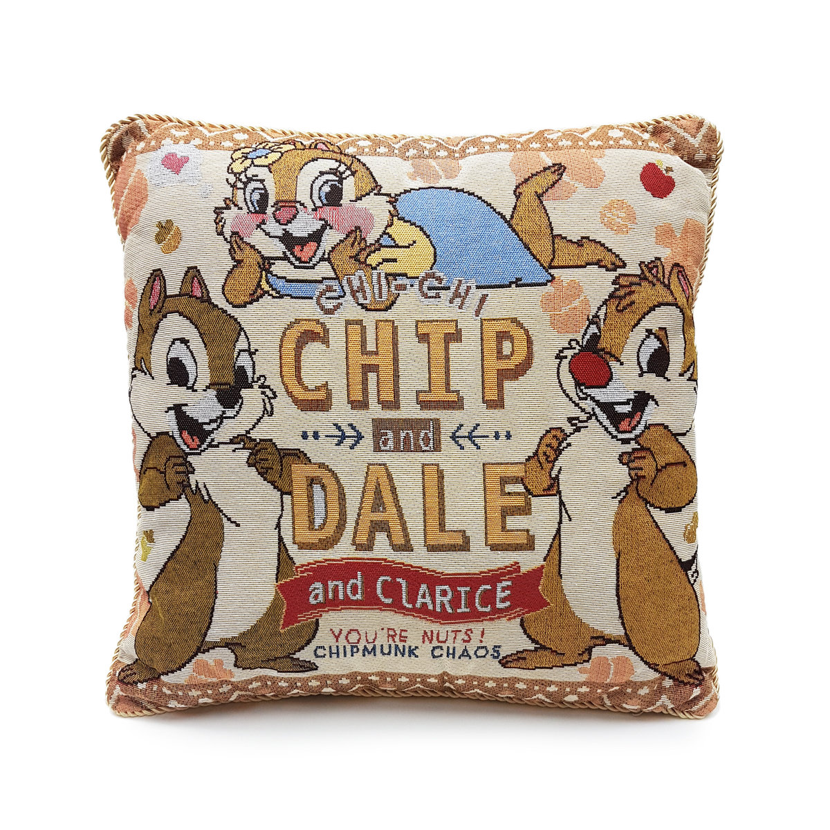 Disney - Chip n Dale Jacquard cushion (Licensed by Disney)