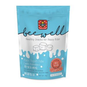 Beewell鮮果乳酪粒粒( 原味)(10個月起適用) - (食用期至2020年5月30日)