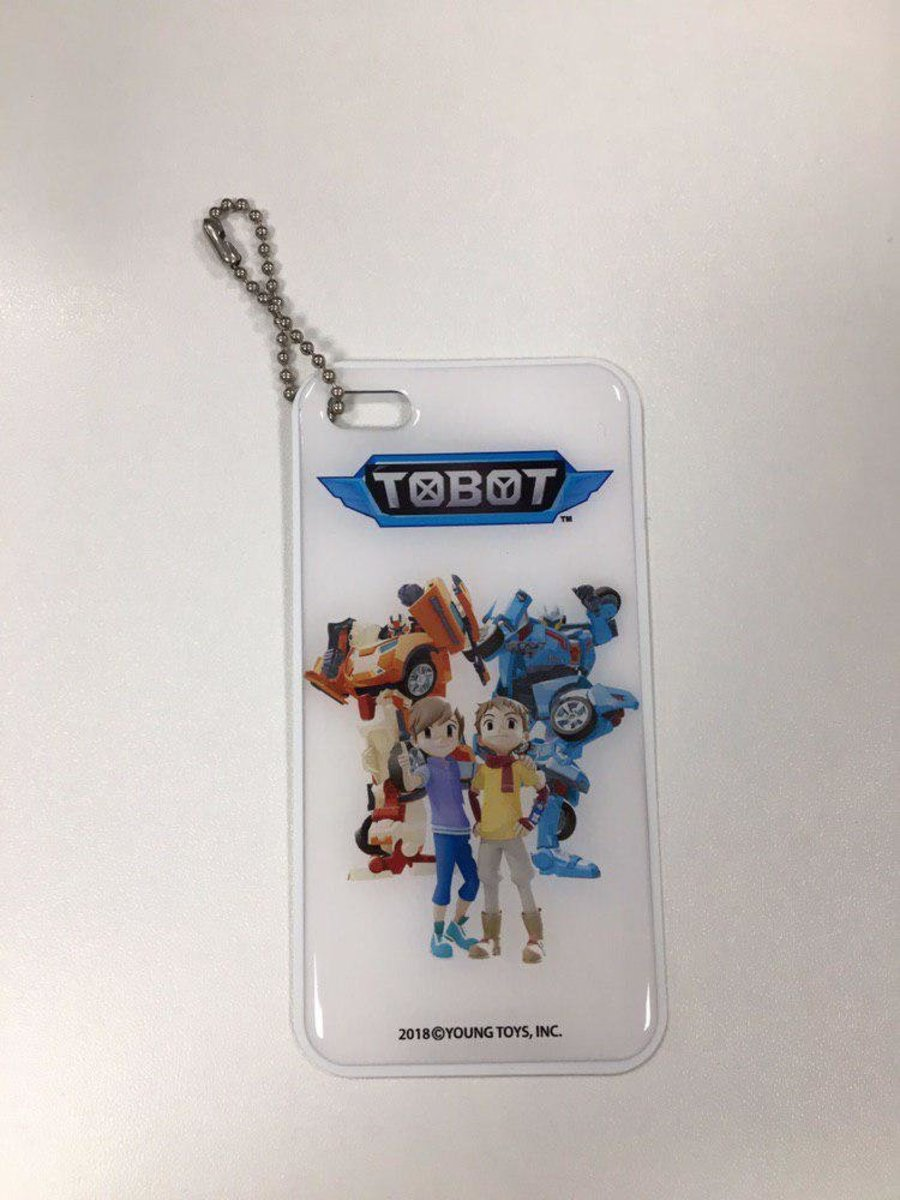 [Free Gift] Tobot Luggage Tag