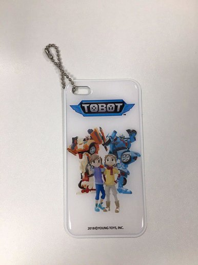 [Free Gift] Tobot Luggage Tag