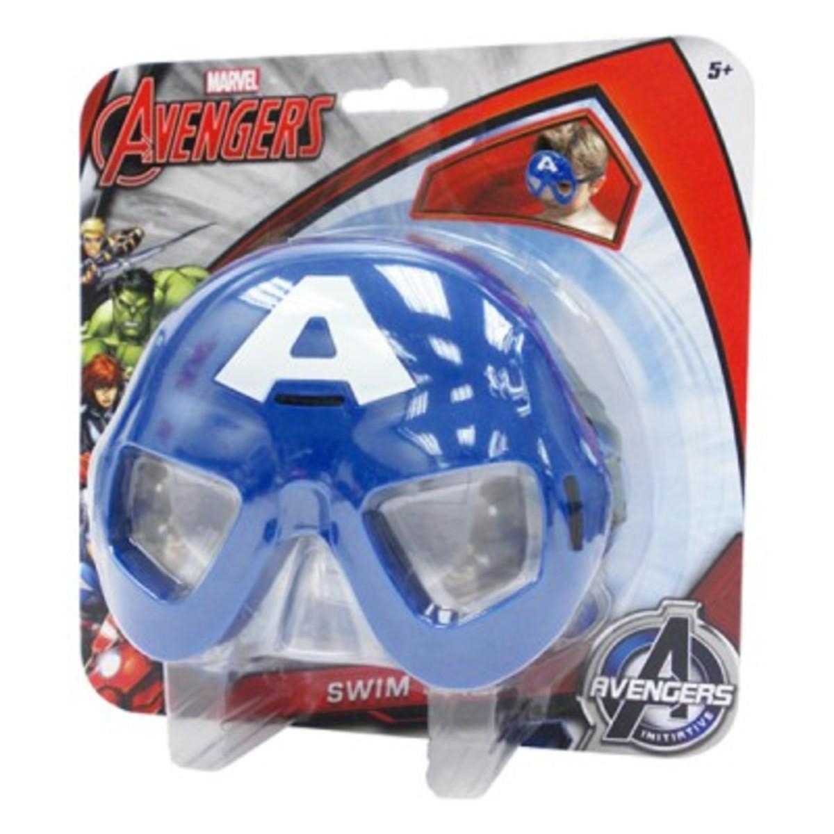 Swim Mask - Captain America (Licensed by Disney)
