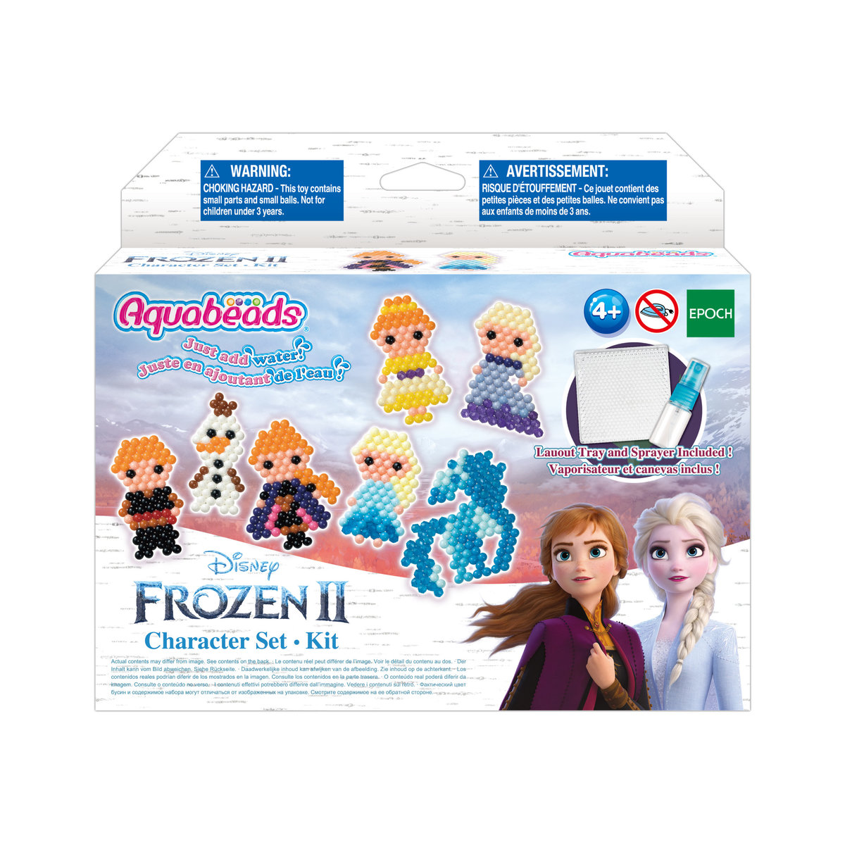 AQB refill -  Frozen 2 Character set (Global ver.) [Licensed by Disney]