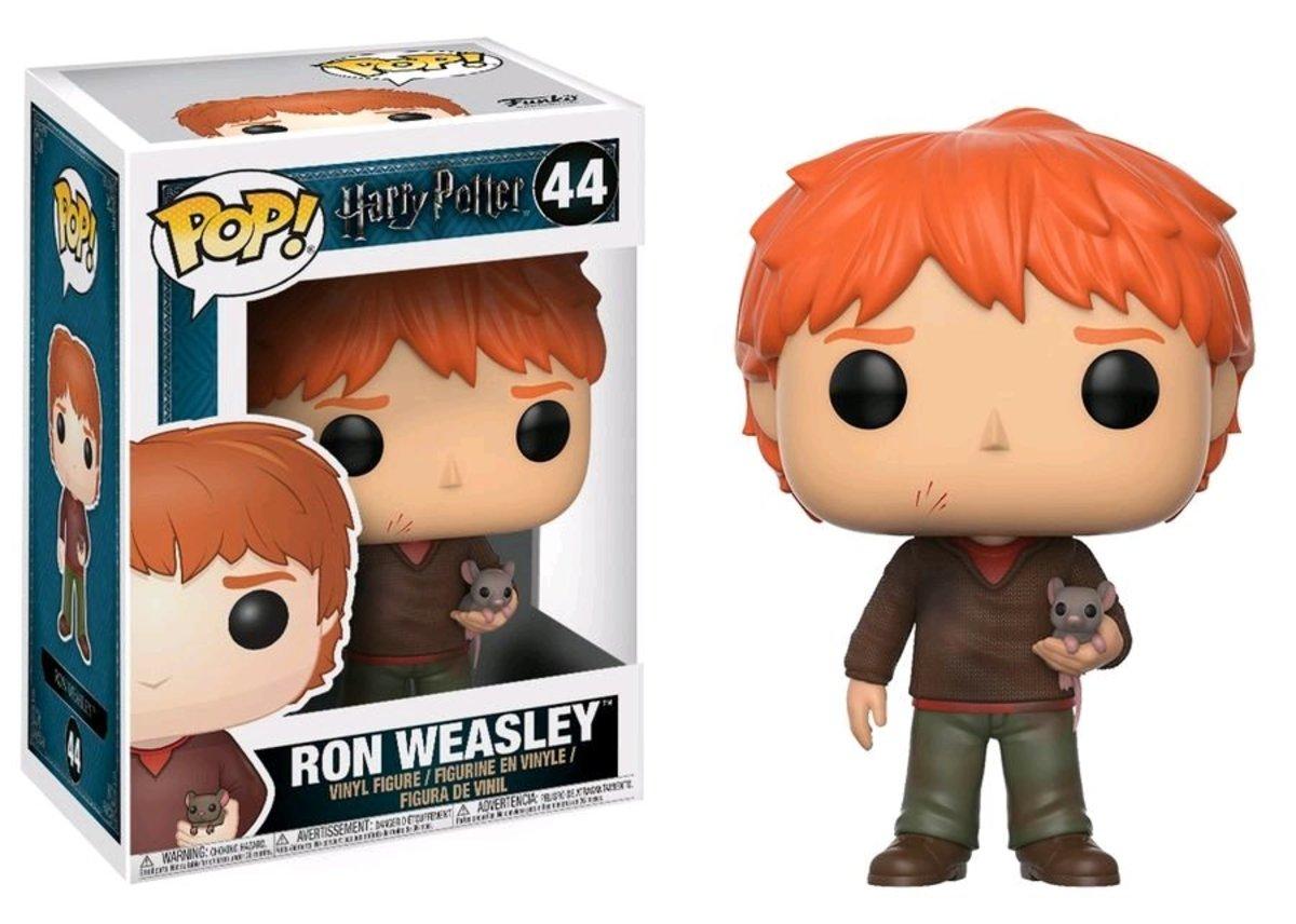 POP Harry Potter: HP-Ron Weasley w/scabbers