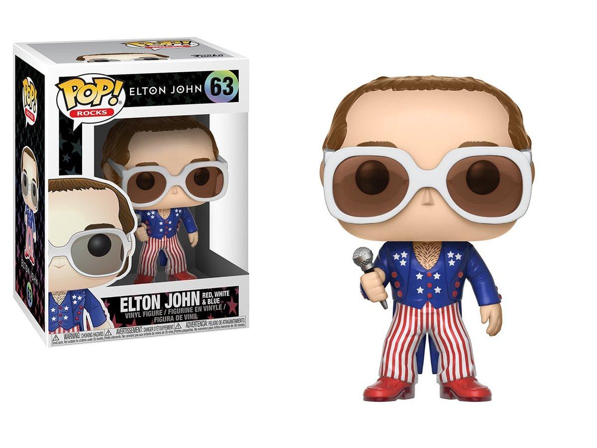 POP Rocks: Elton John Red White Blue