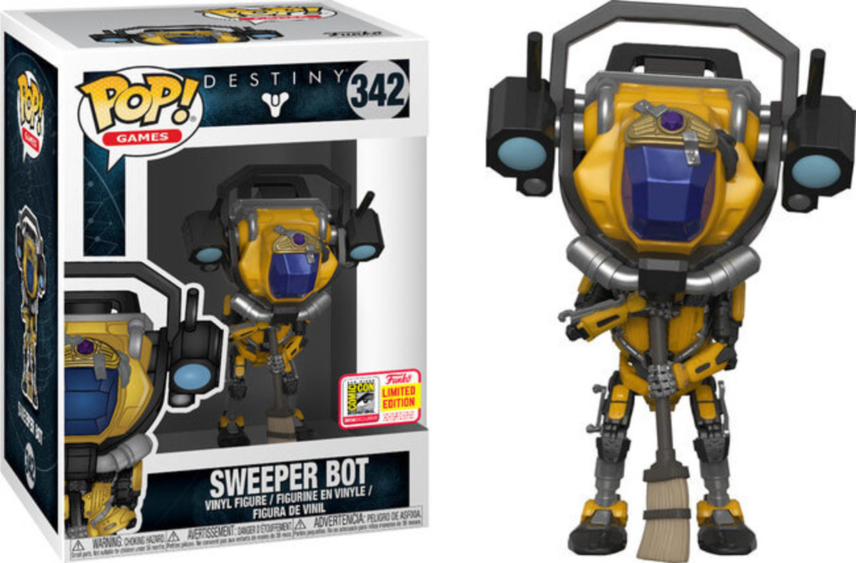 SDCC18 POP Games:Destiny S2-Sweeper Bot