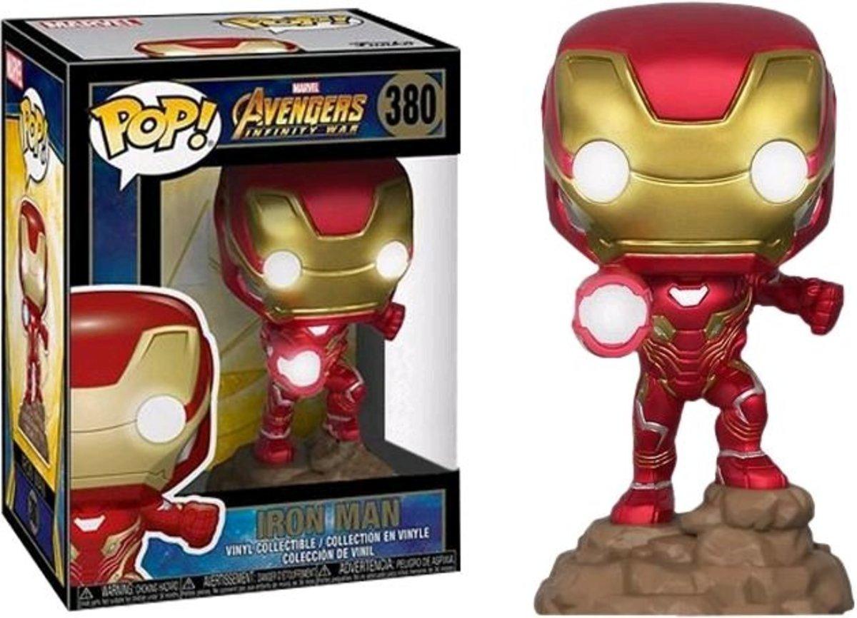 IE POP Marvel:Avengers Infinity-Ironman w/light [Licensed by Disney]