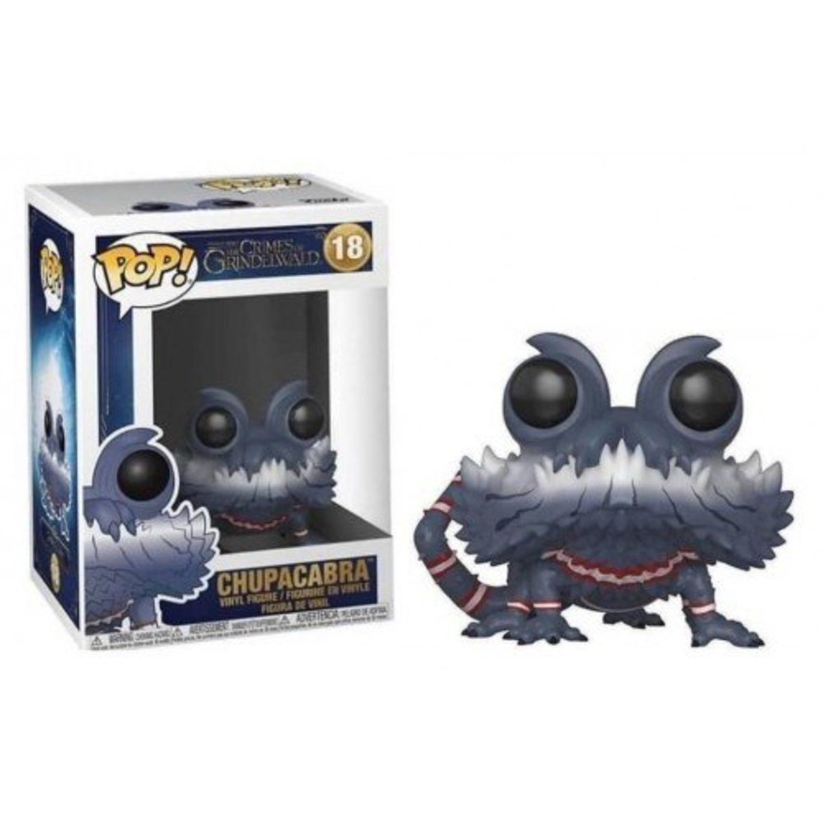 IE POP Movies:Fantastic Beasts 2-Chupacabra Open Mouth