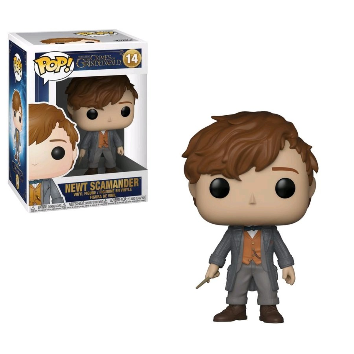 POP Movies:Fantastic Beasts 2-Newt *C