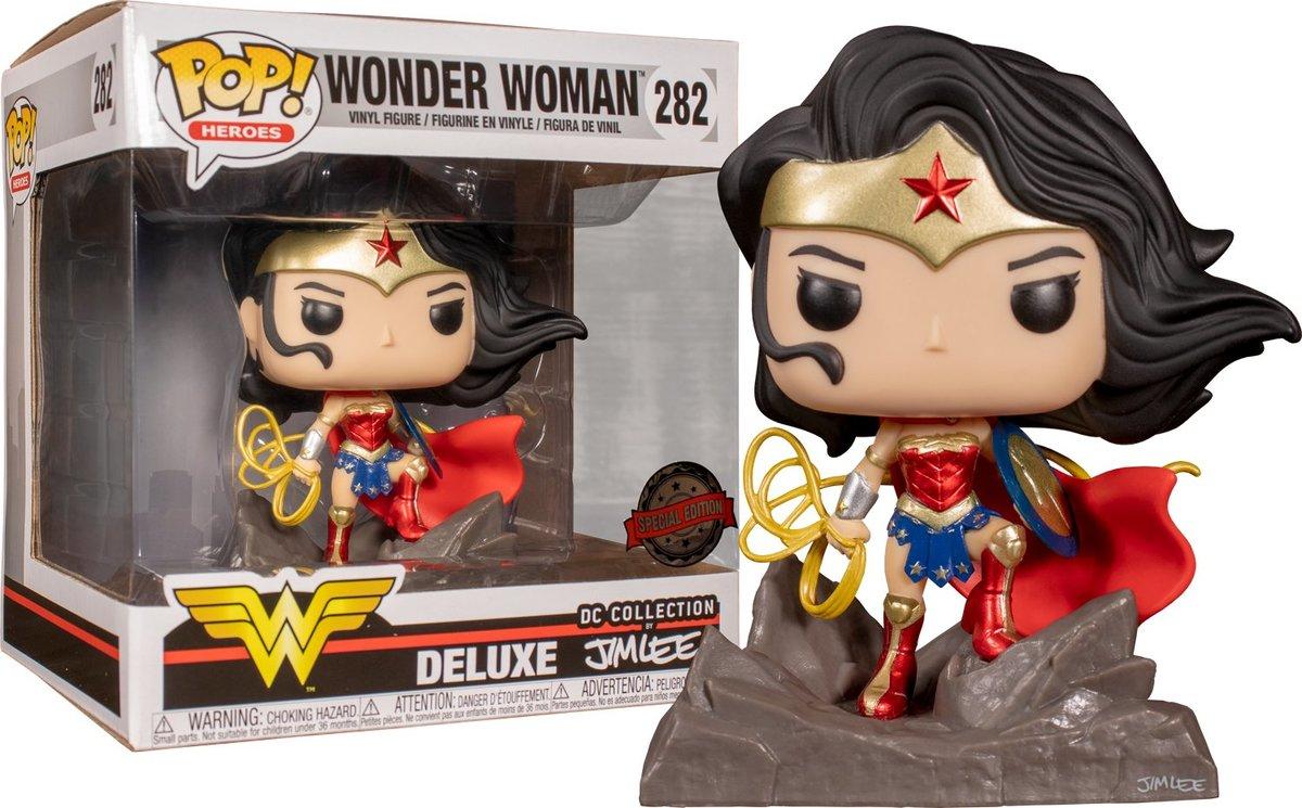 IE POP Deluxe: DC-Wonder Woman (Jim Lee)
