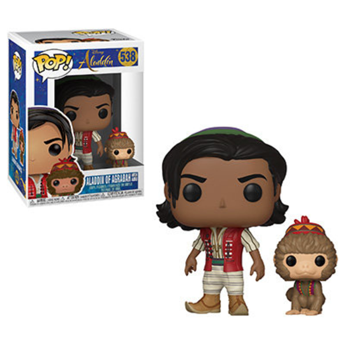 POP Disney: Aladdin Live Action (Aladdin of Agraba with Abu) [Licensed by Disney]