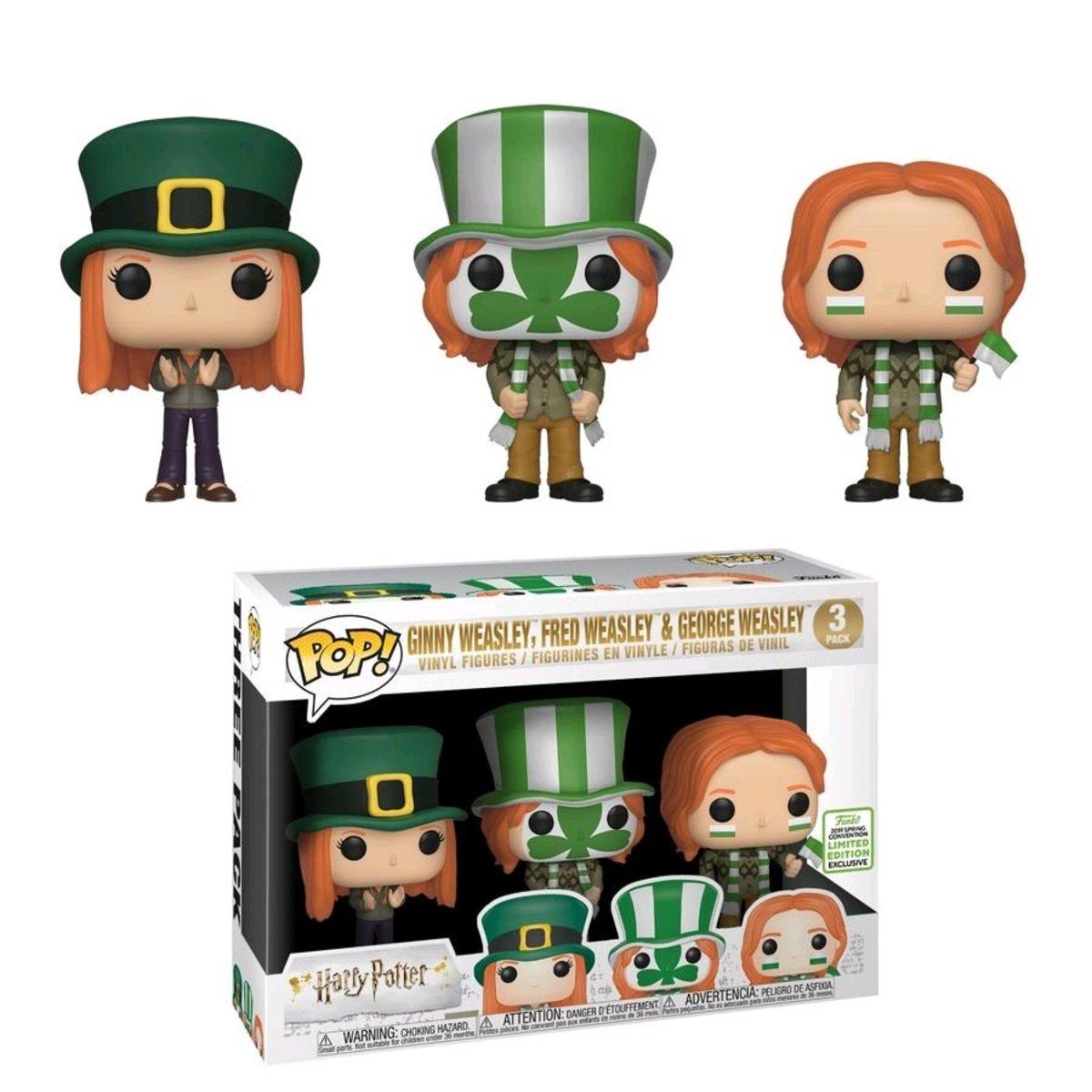 POP HP: Ginny, Fred & Geroge Weasley 3PK 2019 ECCC