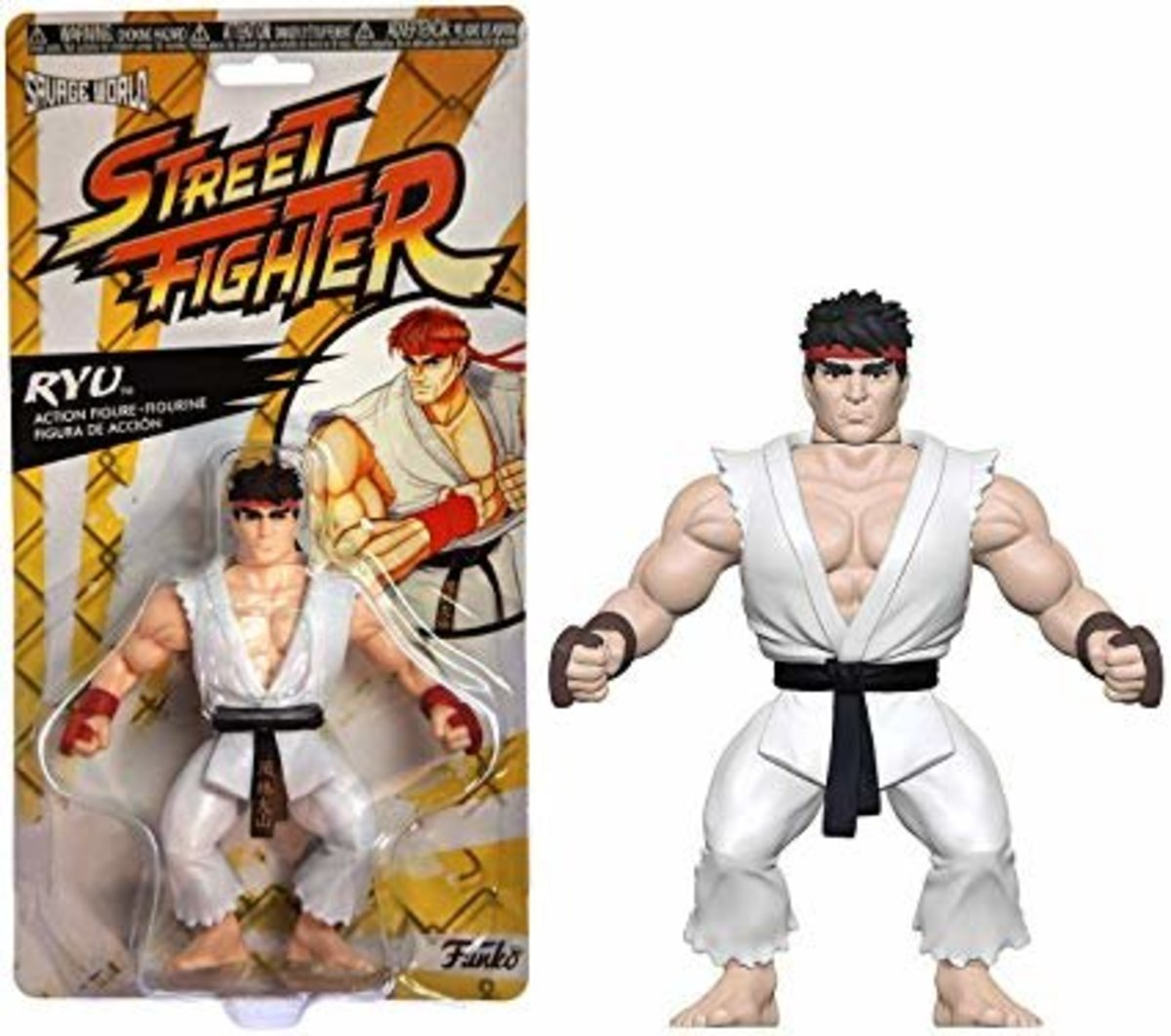 Savage World:Street Fighter-Ryu