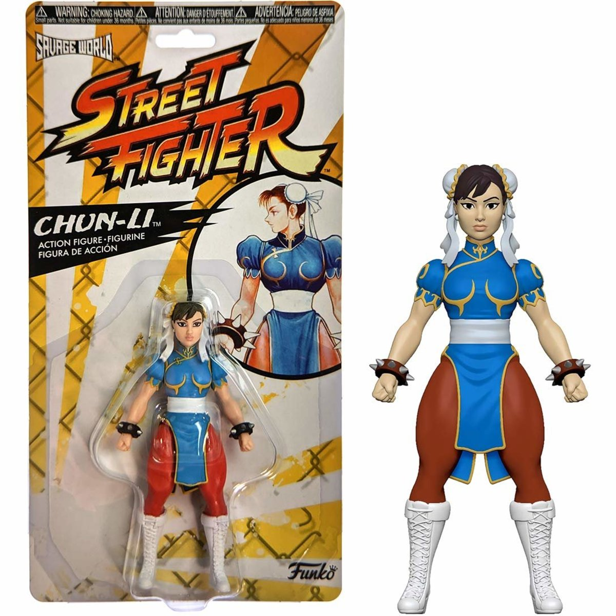 Savage World:Street Fighter-Chun Li