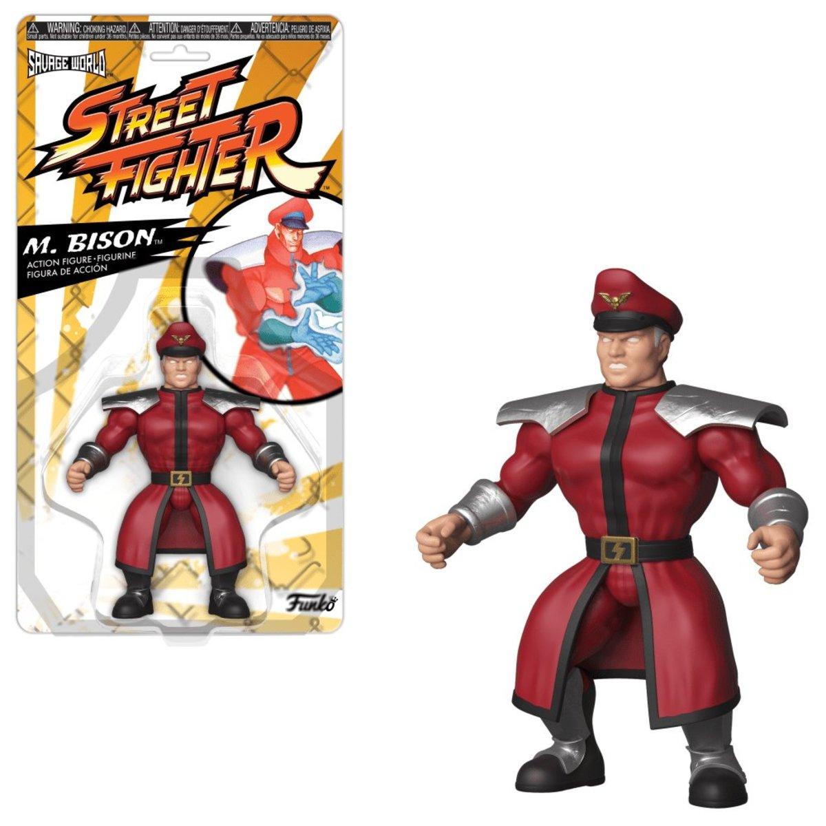 Savage World:Street Fighter-M. Bison