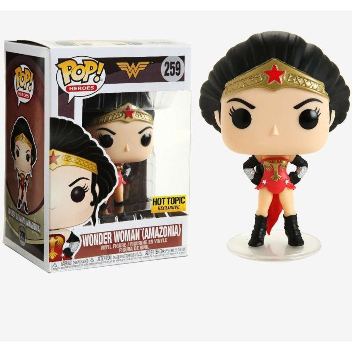 IE POP Heroes: DC Comics-Wonder Woman