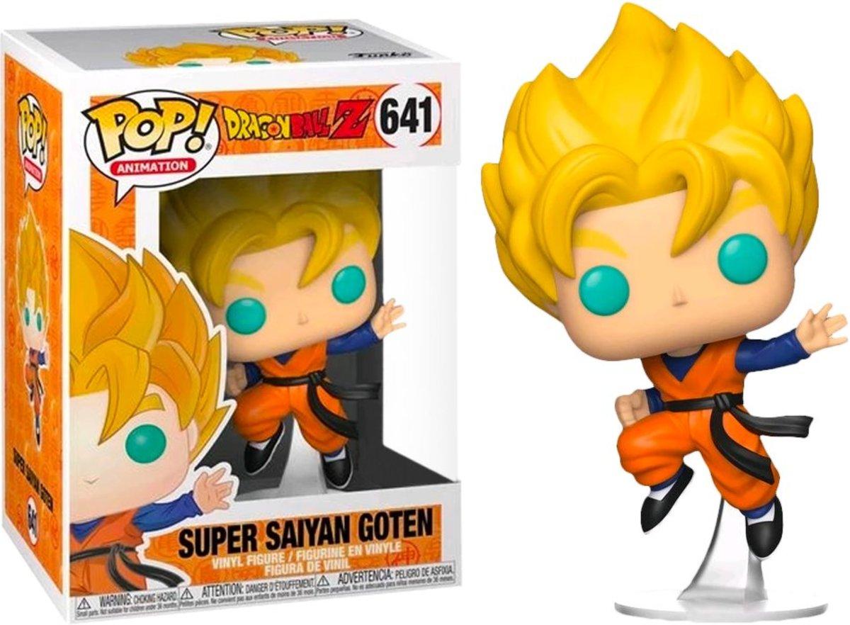 IE POP Animation:DBZ S6 - Super Saiyan Goten