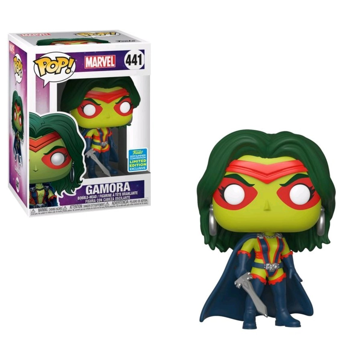 IE SDCC2019 POP Marvel : Gamora  [迪士尼許可產品]