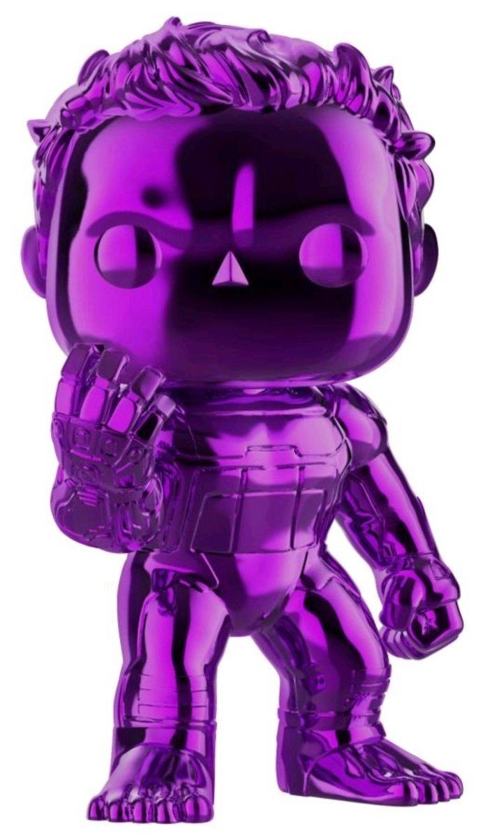 IE POP Marvel 復仇者聯盟4 Endgame - Hulk (紫色) [迪士尼許可產品]