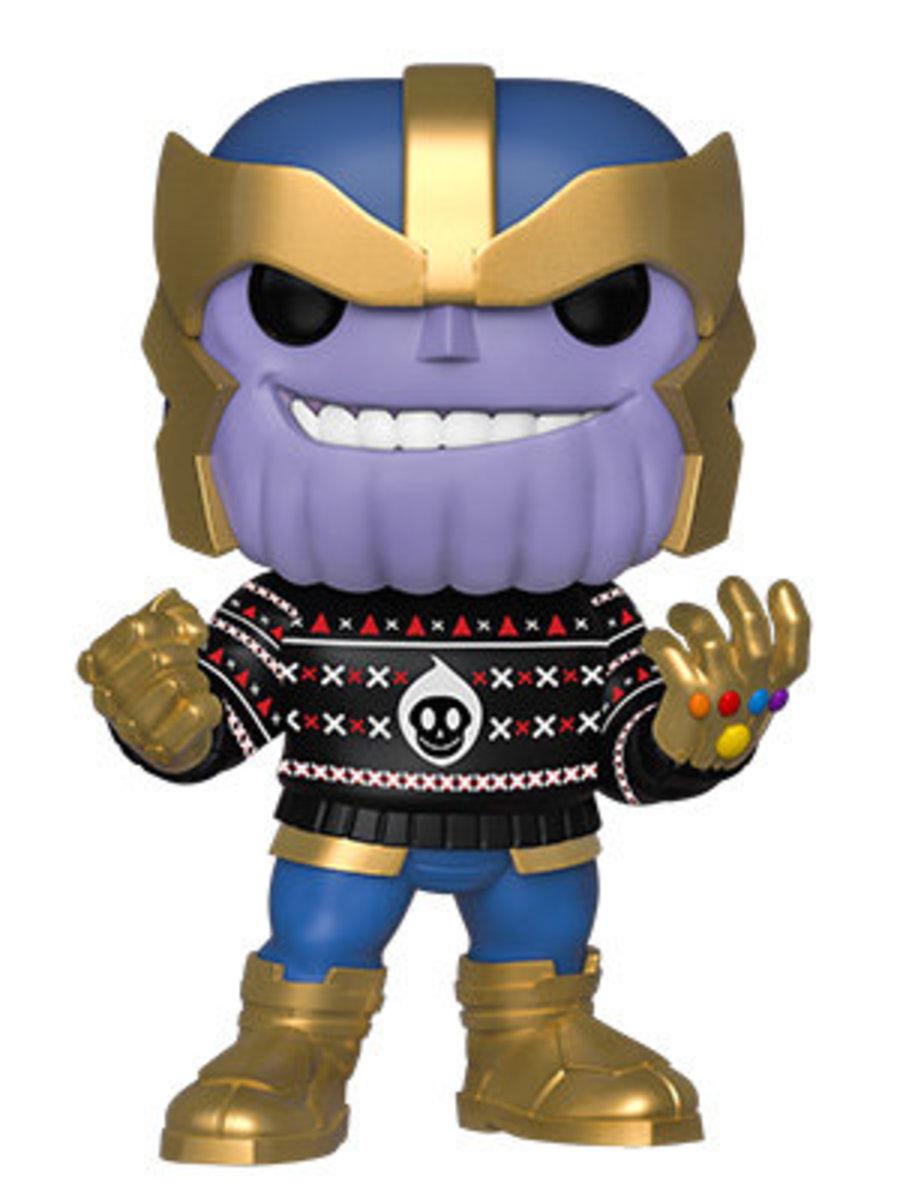 POP Marvel: Holiday-Thanos [Licensed by Disney]