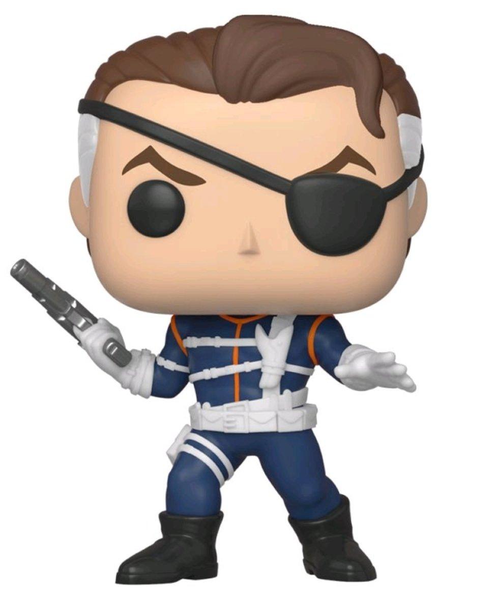 IE  POP Marvel:Nick Fury1stAppearance80thAnniversaryNYCC2019 [Licensed by Disney]