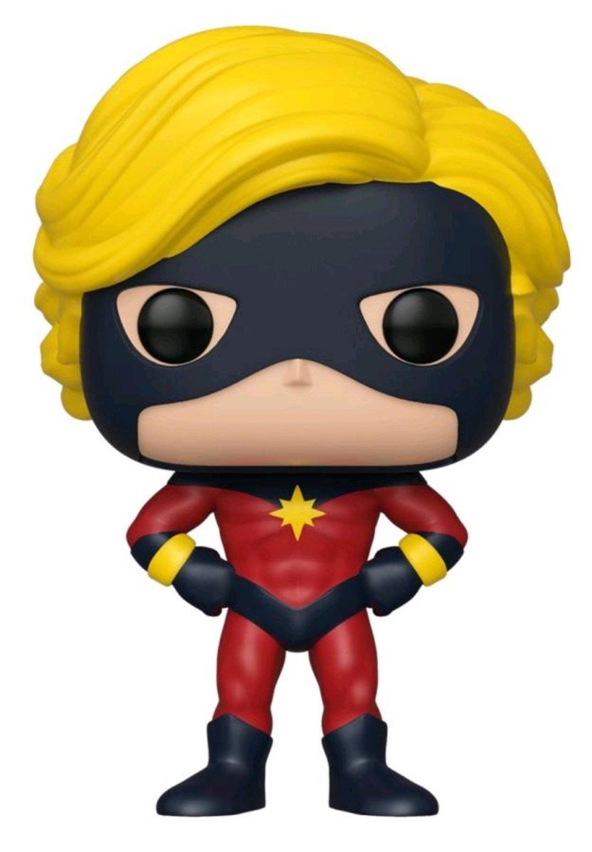 IEPOP Marvel: 1st Appearance Captain Marvel NYCC 2019 [Licensed by Disney]