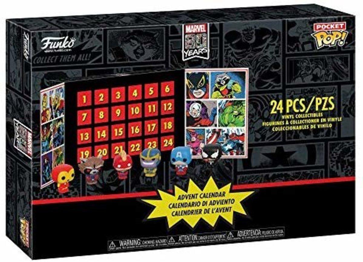 IE Advent Calendar: Marvel 24pc (Pkt POP) (GS) [Licensed by Disney]
