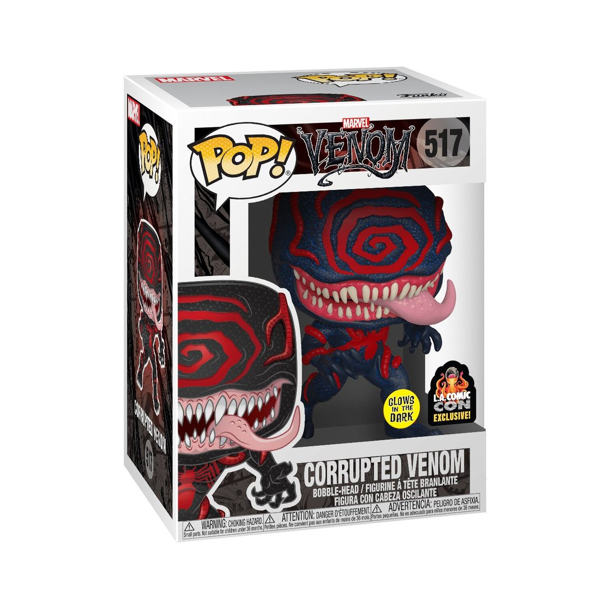 IE POP Marvel: Corrupted Venom (Glow in the Dark)