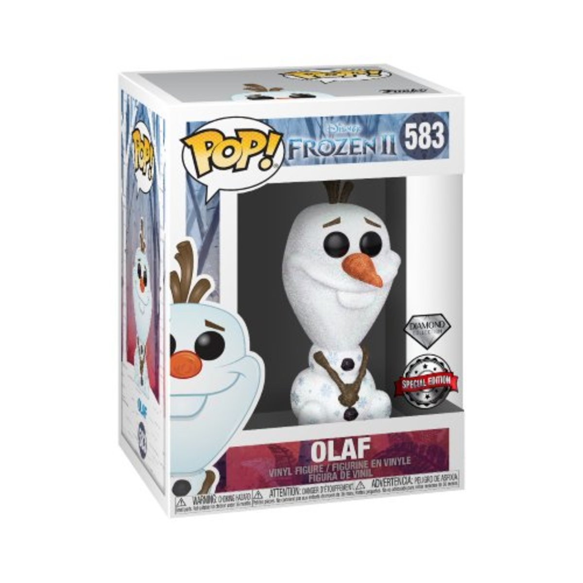 IE POP Frozen II - Olaf Diamond Glitter [Licensed by Disney]