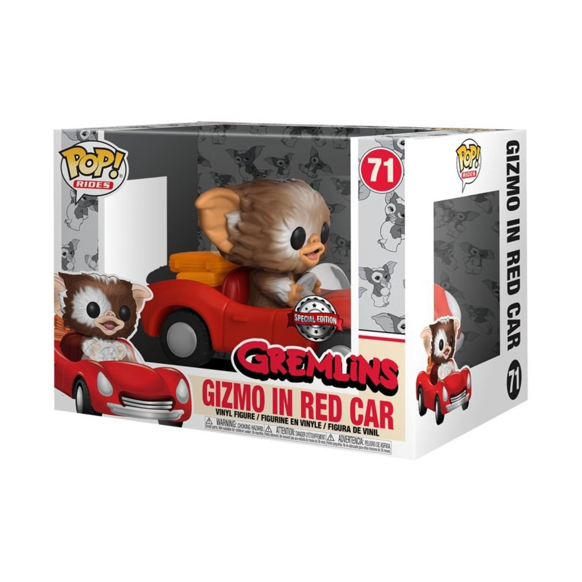 IE POP Rides: Gremlins-Gizmo in Red Car