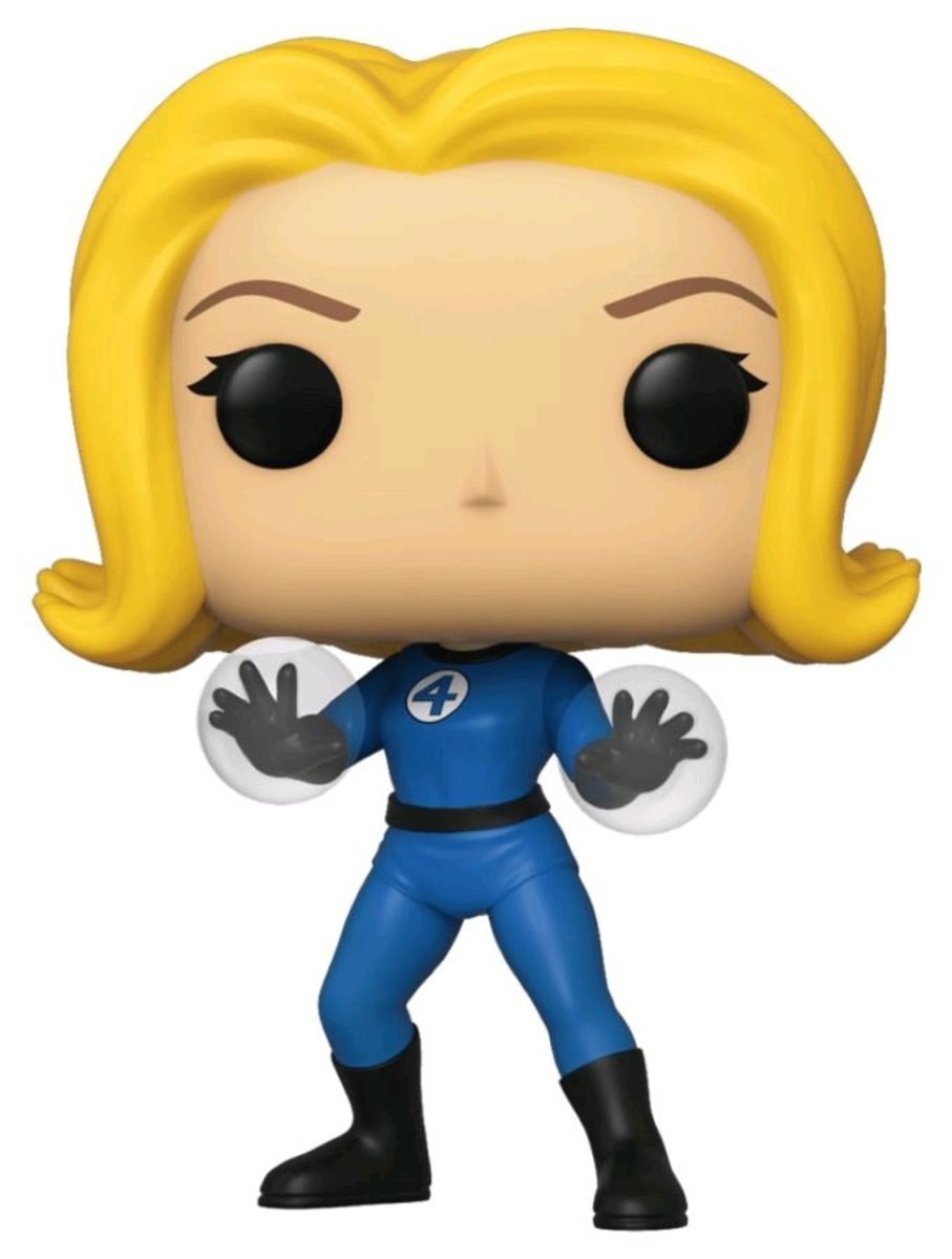 POP Marvel: Fantastic Four-Invisible Girl [Licensed by Disney]