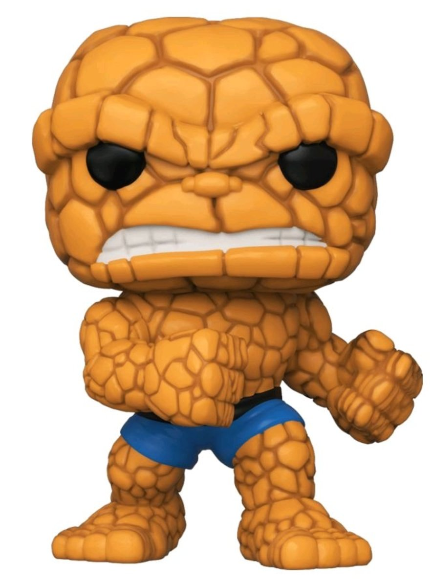 POP Marvel: Fantastic Four-The Thing [Licensed by Disney]