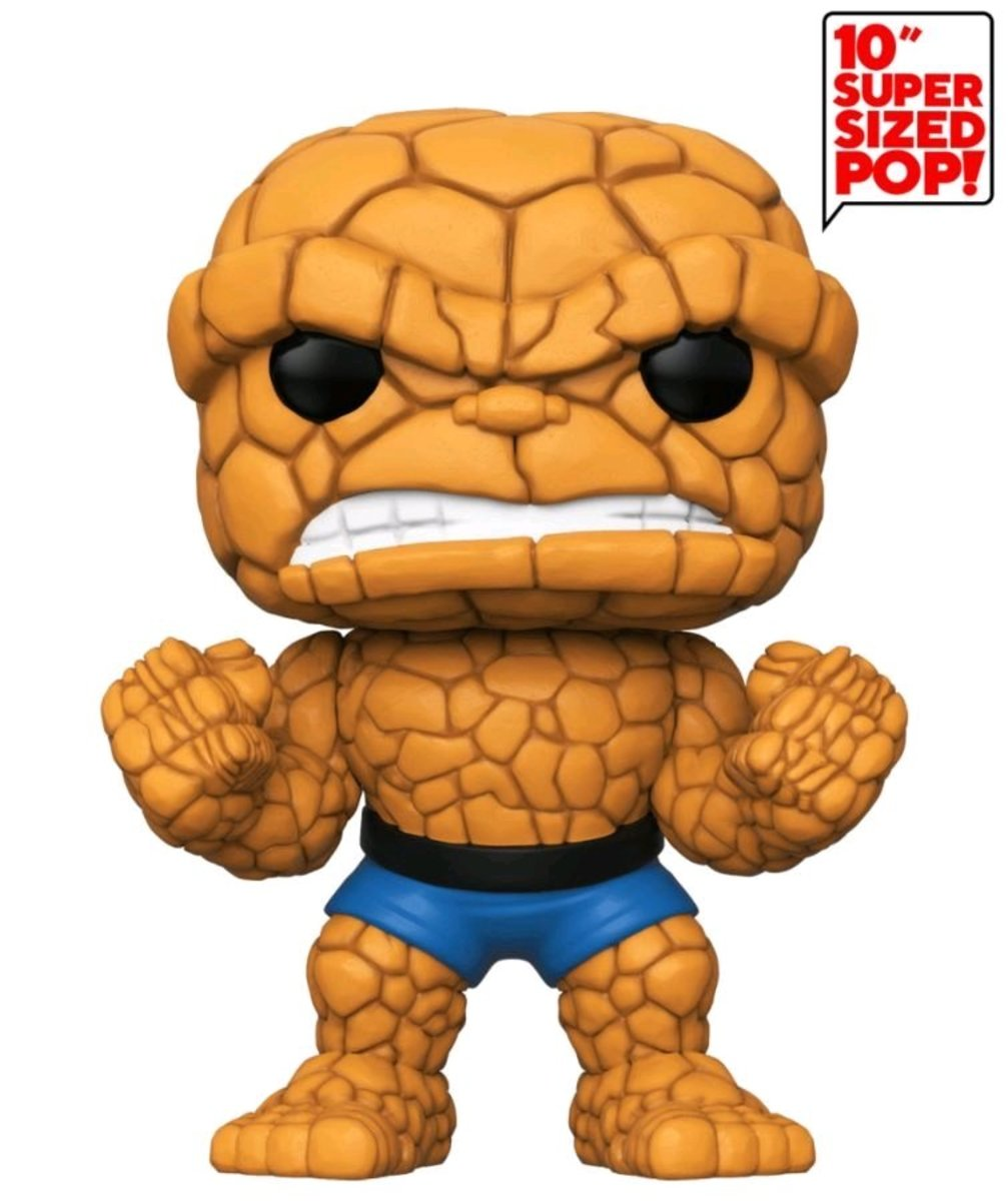"""IE POP Marvel: Fantastic Four-10"""" The Thing [Licensed by Disney]"""