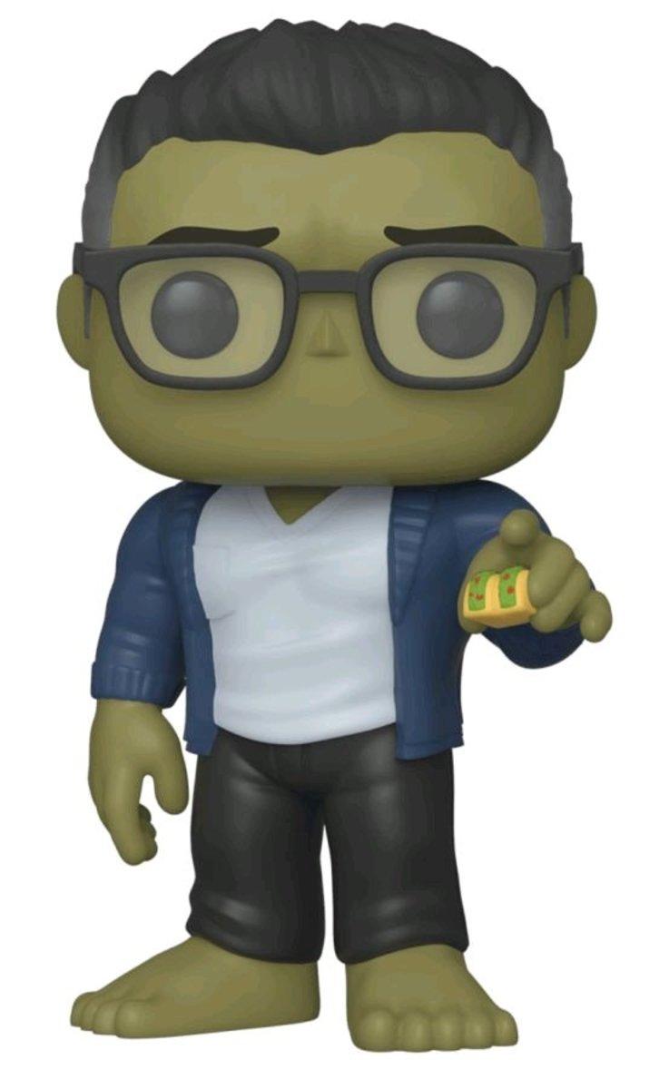 POP Marvel: Endgame-Hulk w/Taco [Licensed by Disney]
