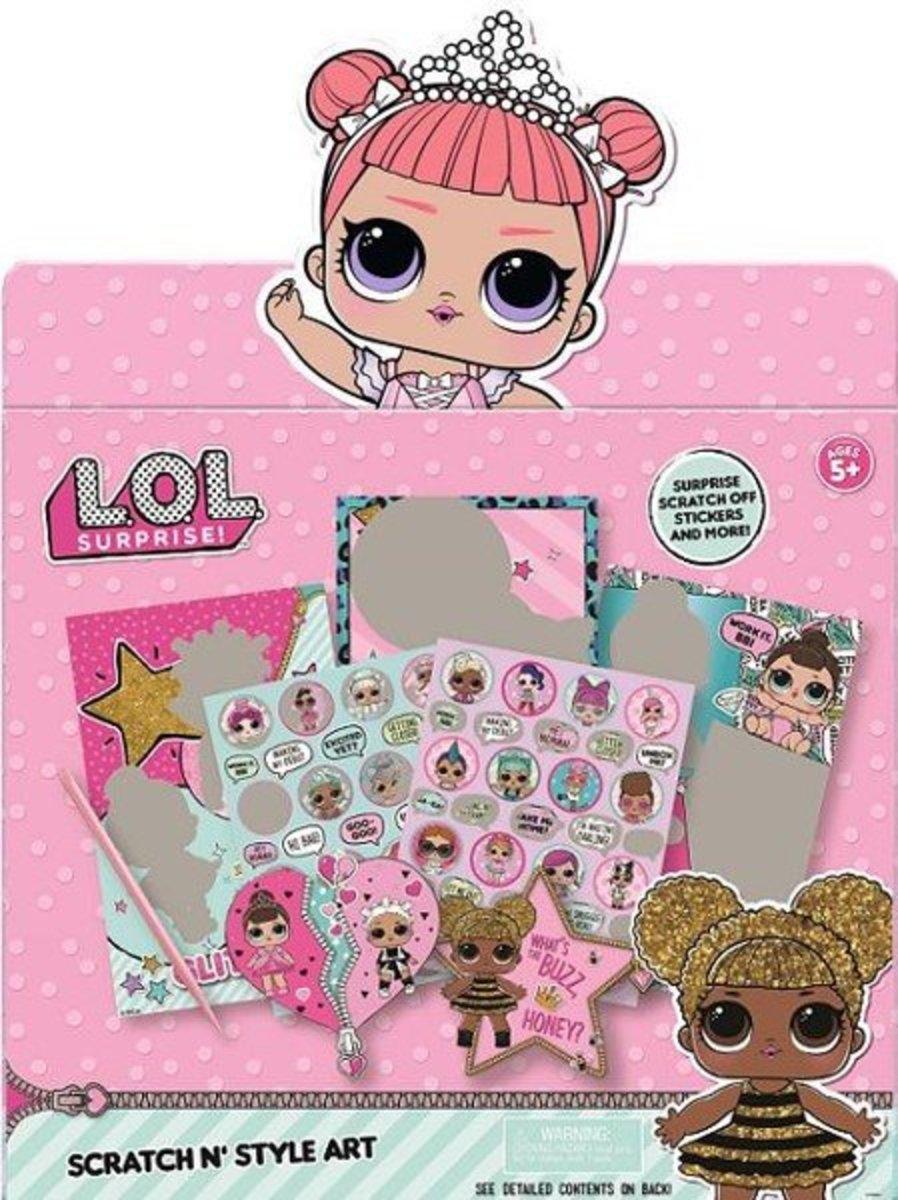 L.O.L. Surprise Scratch n Style Art